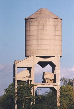 PM Ludington Yard Coal Tower
